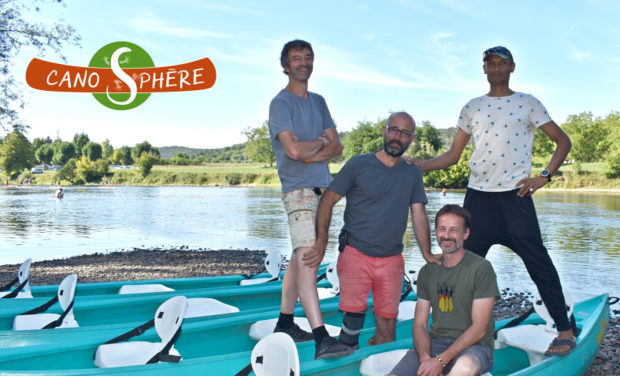 Image du projet Canosphère : base nautique écoresponsable dans la vallée de la Dordogne