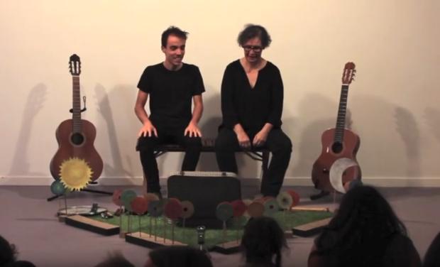 Project visual 1er album de chansons pour les 0-5 ans Petits airs pour petites bêtes