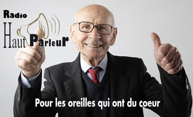 Project visual Une webradio pour les Ehpad et les grands seniors : Radio Haut Parleur