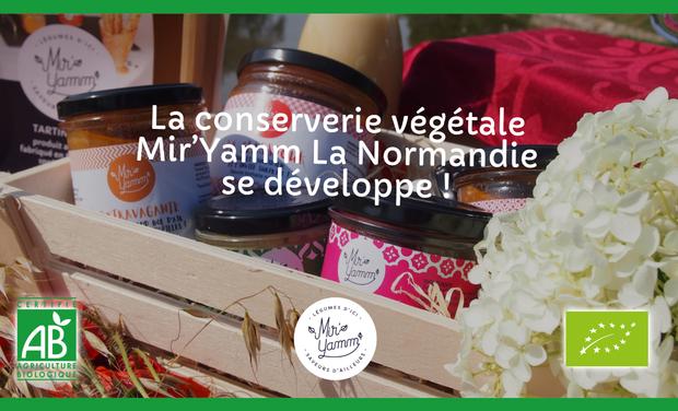 Project visual La conserverie végétale Mir'Yamm La Normandie se développe !