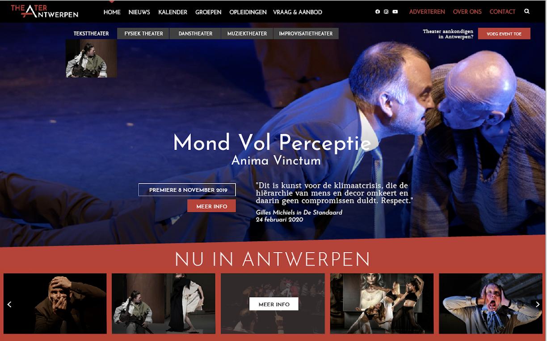 Omslagfoto van project Steun het nieuwe platform Theater Antwerpen