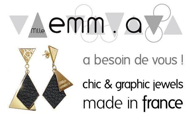Visuel du projet Mlle emm.a [chic & graphic jewels]