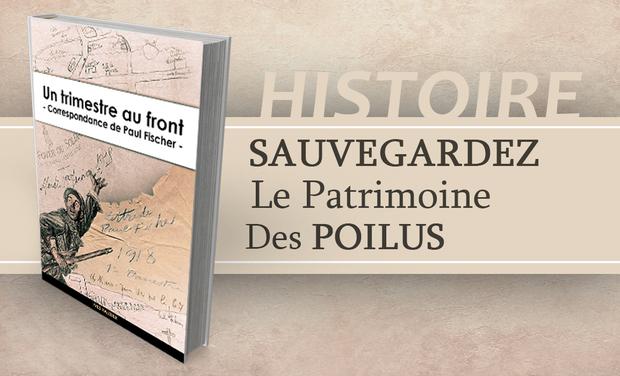 Visueel van project Un trimestre au front en 1918  Correspondance  de  Paul Fischer.