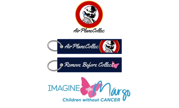 """Visuel du projet Flamme """"AirPlaneCollec"""" au profit de l'association """"Imagine For Margo"""""""