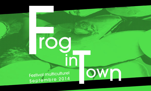 Project visual Festival Frog in Town