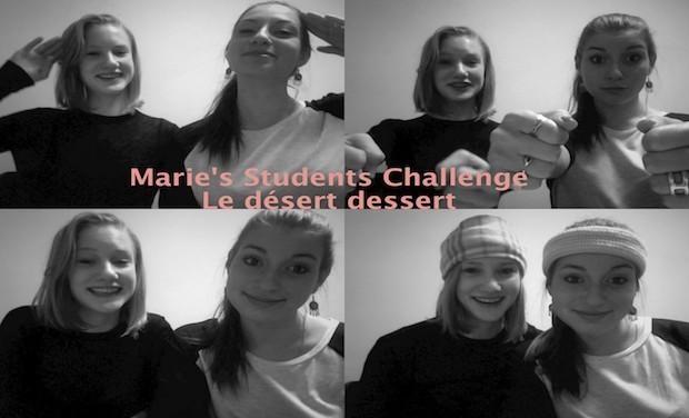 Visueel van project Marie's Students Challenge