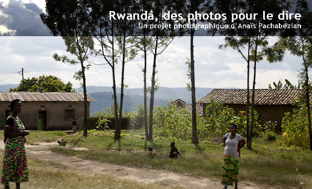 Visueel van project Rwanda, des photos pour le dire