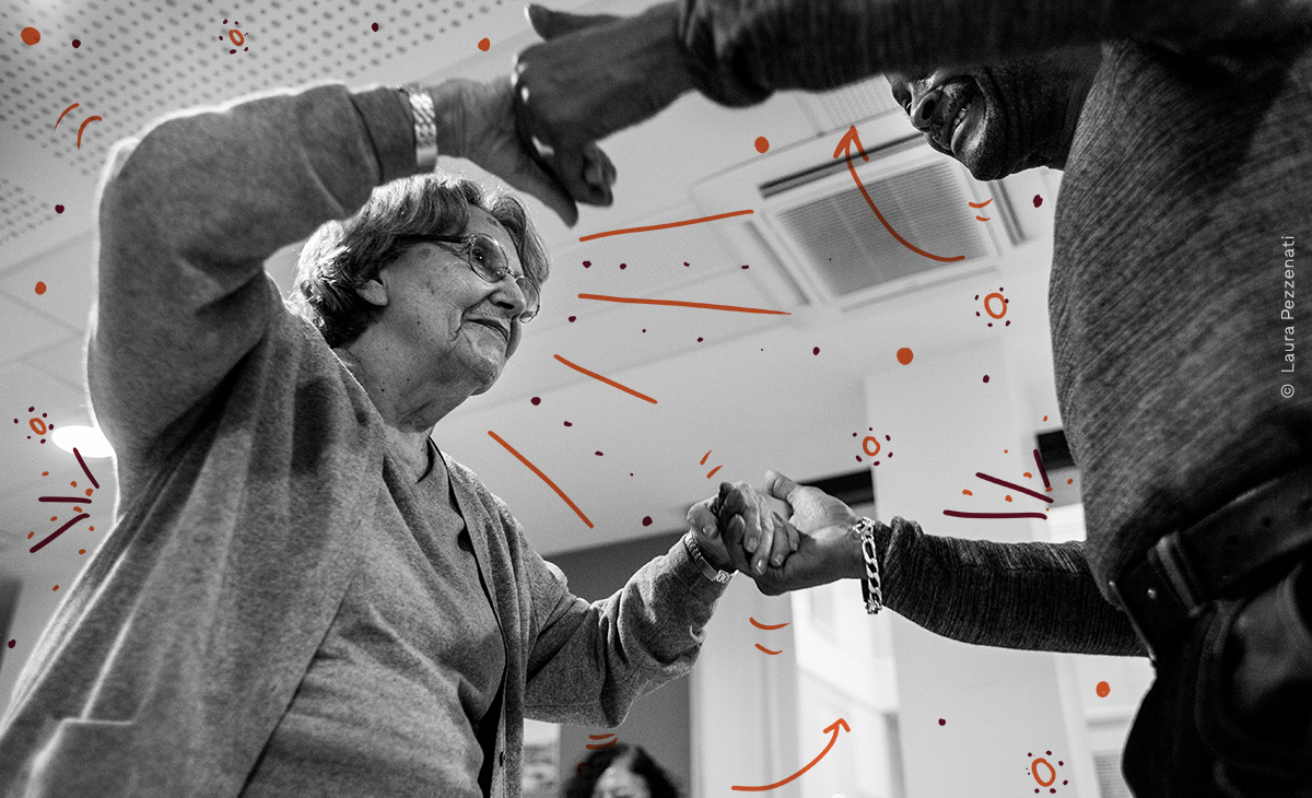 Project image ONLINE TANGO FOR THE ELDERLY?