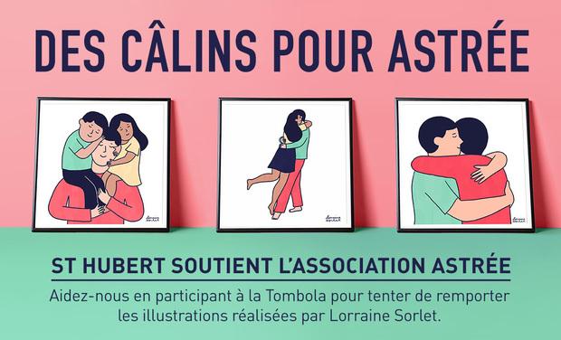 Visueel van project Les câlins St Hubert pour Astrée