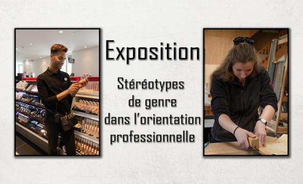 Project visual Dé-genre & des métiers - expo photo pour favoriser la mixité professionnelle