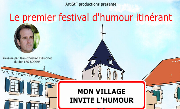Project visual Mon village invite l'humour. by StF