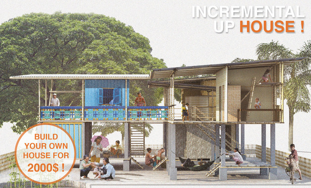 Visuel du projet Incremental Up House !