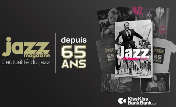 Visueel van project Soutenez le Jazz et le Live !           Anniversaire 65 ans Jazz Magazine