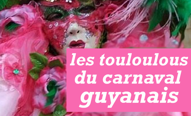 Project visual Les touloulous du carnaval guyanais