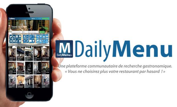 Visuel du projet Dailymenu