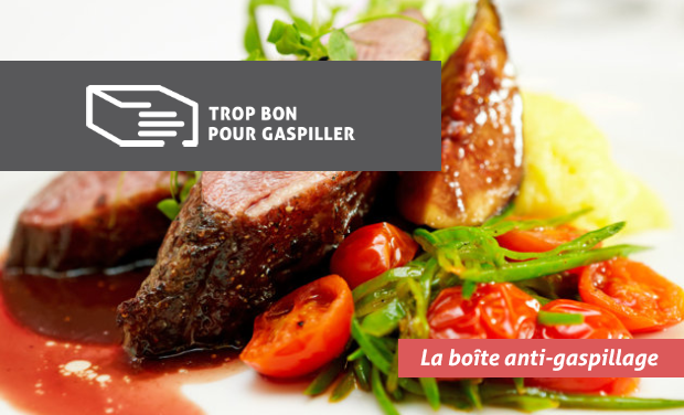 Project visual Trop Bon Pour Gaspiller - La boîte anti-gaspillage