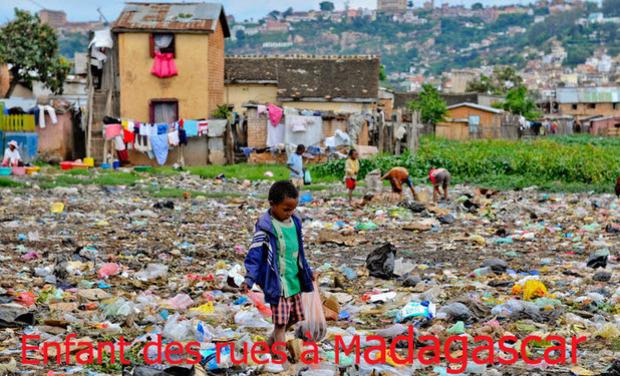 Visuel du projet Les enfants des rues de Madagascar