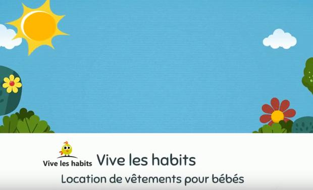 Visuel du projet Vive les habits - Location de vêtements pour bébés