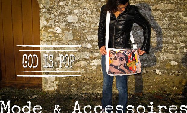 Visuel du projet GOD IS POP, Mode & Accessoires