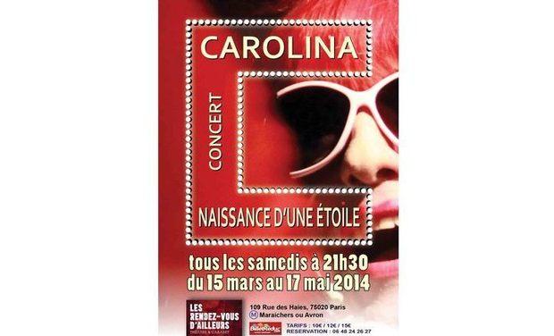 """Visuel du projet """"Carolina,  naissance d'une Etoile..."""""""