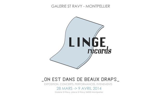 """Project visual Exposition Linge Records : """"On est dans de beaux draps"""""""