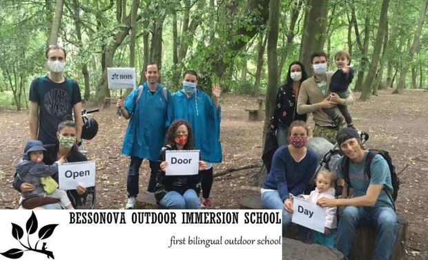Project visual Help to Open the First Bilingual Forest School BOIS