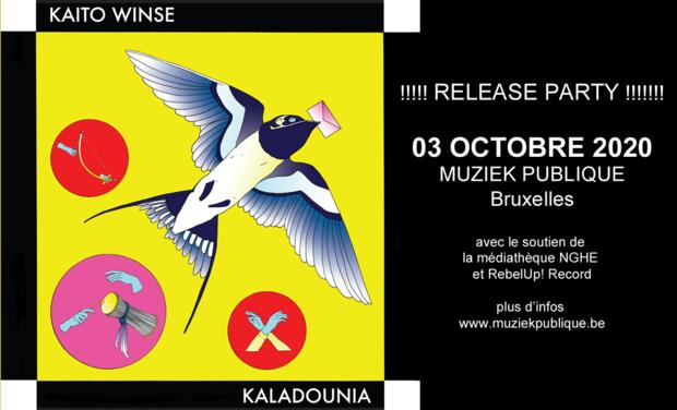 Visuel du projet KALADOUNIA - Labalou Kaito Winse - Album solo