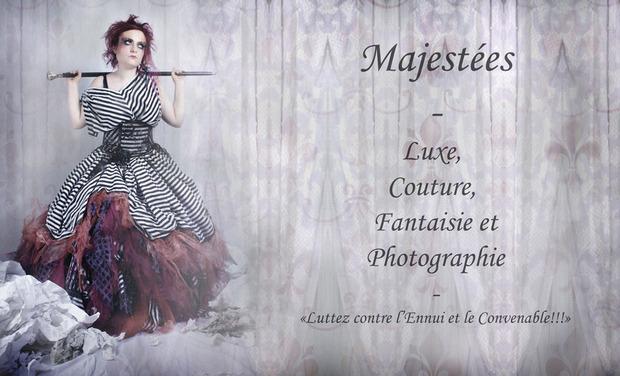 Project visual Majestées, exposition et calendrier