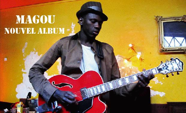 Visuel du projet Magou - nouvel album