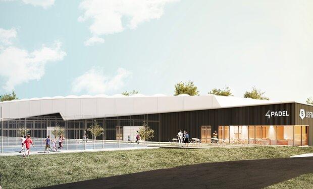 Project visual 4PADEL MARVILLE : le nouveau club de PADEL d'Ile-de-France