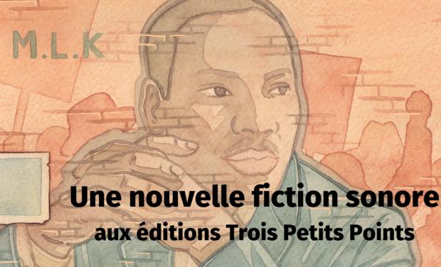 """Visuel du projet Livre audio """"La chanson de Martin"""" : la lutte antiraciste en folk music"""