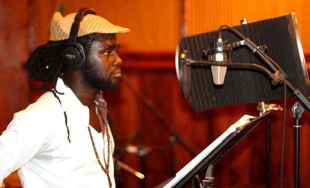 Visueel van project MamJ Ras Soul, Artiste de coeur - Enregistrement album