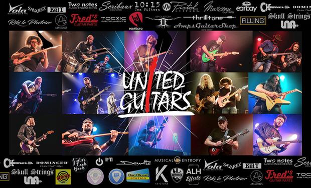 Project visual UNITED GUITARS VOL 2 : un projet collaboratif 100% guitare !