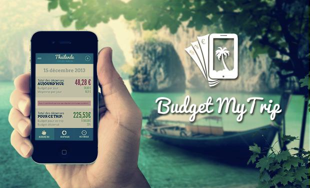 Visuel du projet Budgi : appli pour gérer son budget voyage