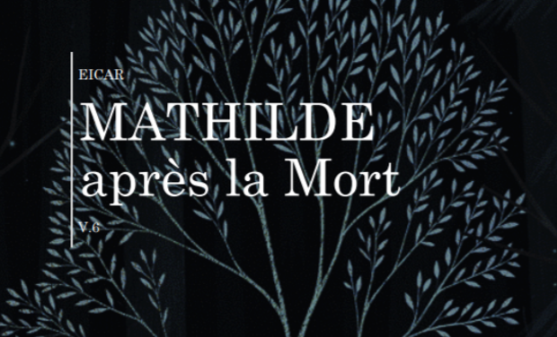 Project visual Mathilde après la Mort