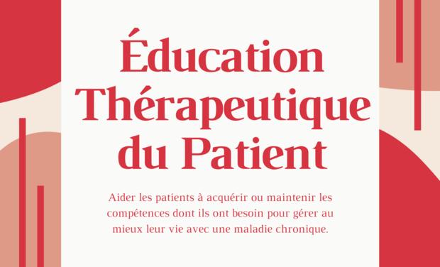 Visuel du projet Formation à l'éducation thérapeutique du patient (ETP)