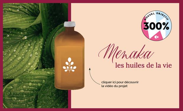 Project visual Menaka, les huiles de la vie