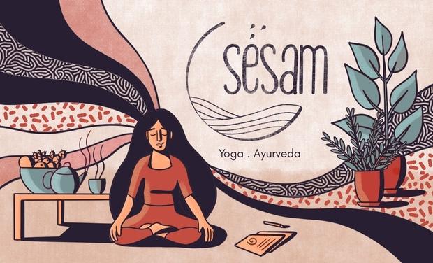 Project visual Sésam - Centre Yoga & Ayurveda