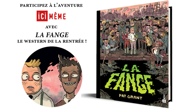 Visueel van project LA FANGE, le western de la rentrée Ici Même !