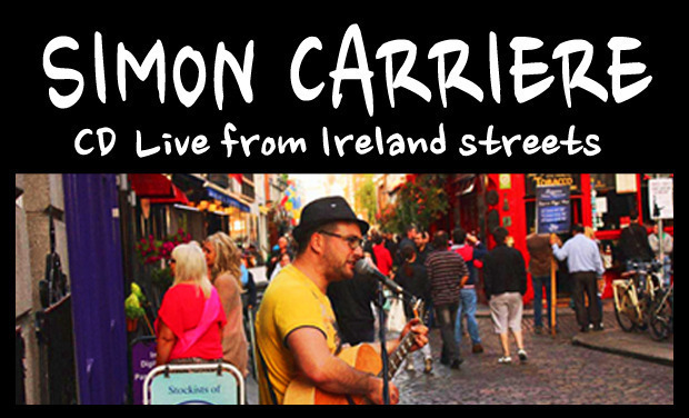 Visuel du projet CD Live from Ireland streets - Simon Carriere