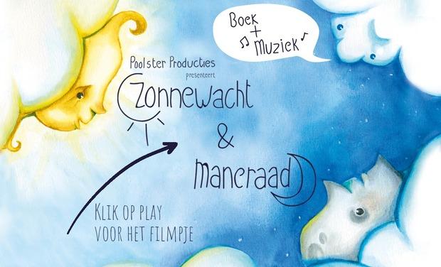 Visueel van project Kindermuziekboek: Zonnewacht & Maneraad