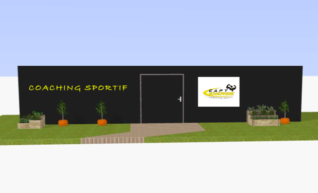 Project visual Un container sportif