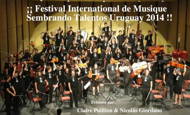 Visuel du projet Festival de Musique Sembrando Talentos Uruguay 2014