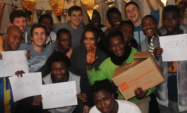 Visuel du projet Des lits pour 16 jeunes migrants