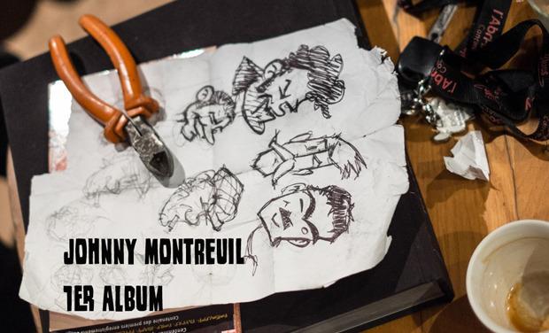 Visueel van project JOHNNY MONTREUIL  - 1er album