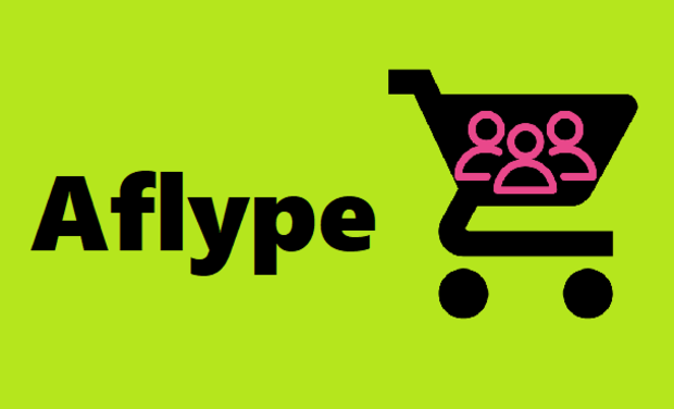 Project visual Aflype - Livraisons d'achats entre particuliers