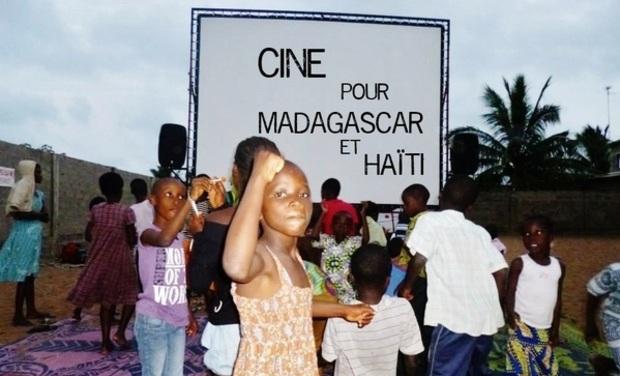 Visuel du projet Ciné pour Madagascar et Haïti