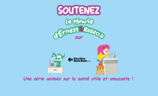 Project visual La Minute d'Ernest & Rebecca