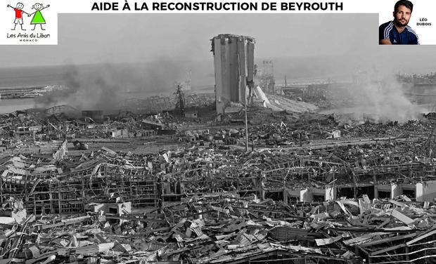 Image du projet Aide à la reconstruction de Beyrouth - Léo Dubois & Les Amis du Liban