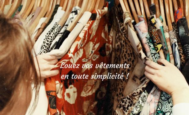 Project visual Un projet eco-responsable, la location de vêtements femme
